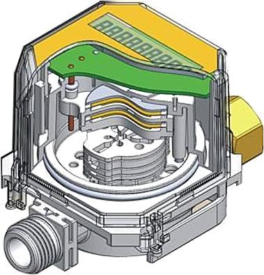 Схема работы счетчика газа