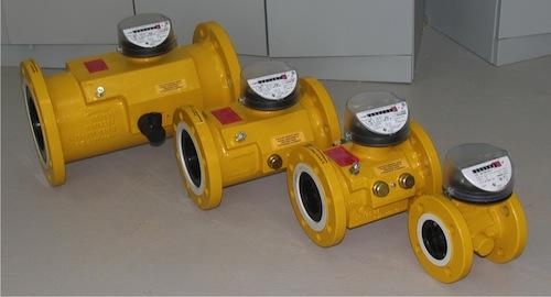 Турбинные счетчики газа TRZ-2500 Ду 300